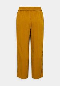 MY TRUE ME TOM TAILOR - PANTS FEMININE WIDE LEG - Trousers - california umber - 1