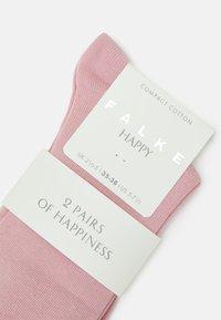 FALKE - HAPPY 2-PACK - Socks - blossom - 1
