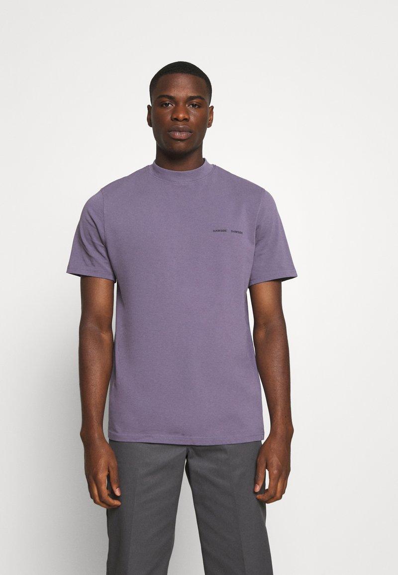 Samsøe Samsøe - NORSBRO - T-shirts print - cadet