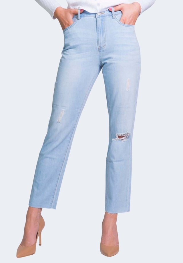 VISTRAY CLASH  - Jeans a sigaretta - light denim