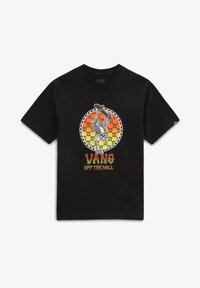 Vans - INVERTED BONES - Print T-shirt - black - 2