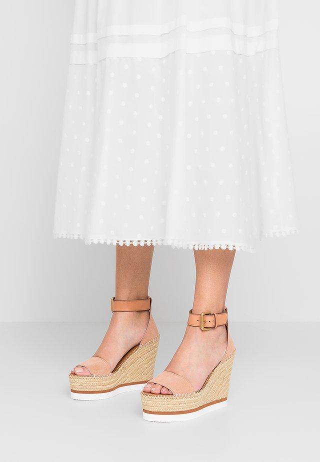 Sandaler med høye hæler - cipria/sierra