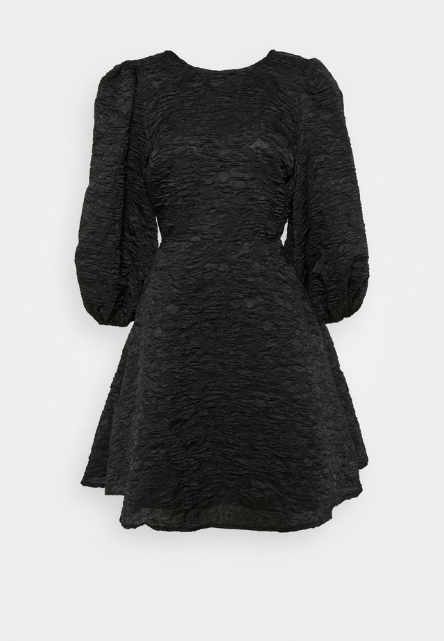 OPEN BACK TIE DRESS - Cocktail dress / Party dress - black