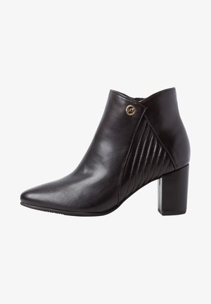 Ankle boots - black/gold