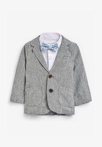 Next - GREY BLAZER, SHIRT & SHORT SET (3MTHS-7YRS) - Blazer jacket - grey - 1