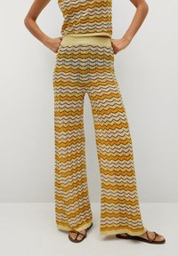 Mango - Trousers - mosterd - 0