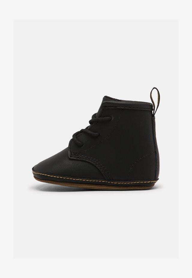 1460 CRIB UNISEX - First shoes - black mason