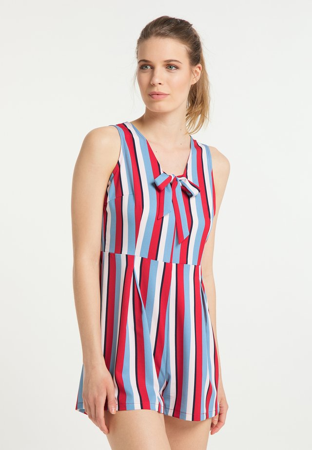 Jumpsuit - multicolor gestreift