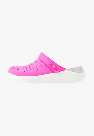 LITERIDE - Mules - electric pink/almost white