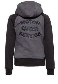 Queen Kerosin - Zip-up sweatshirt - hellgrau - 1
