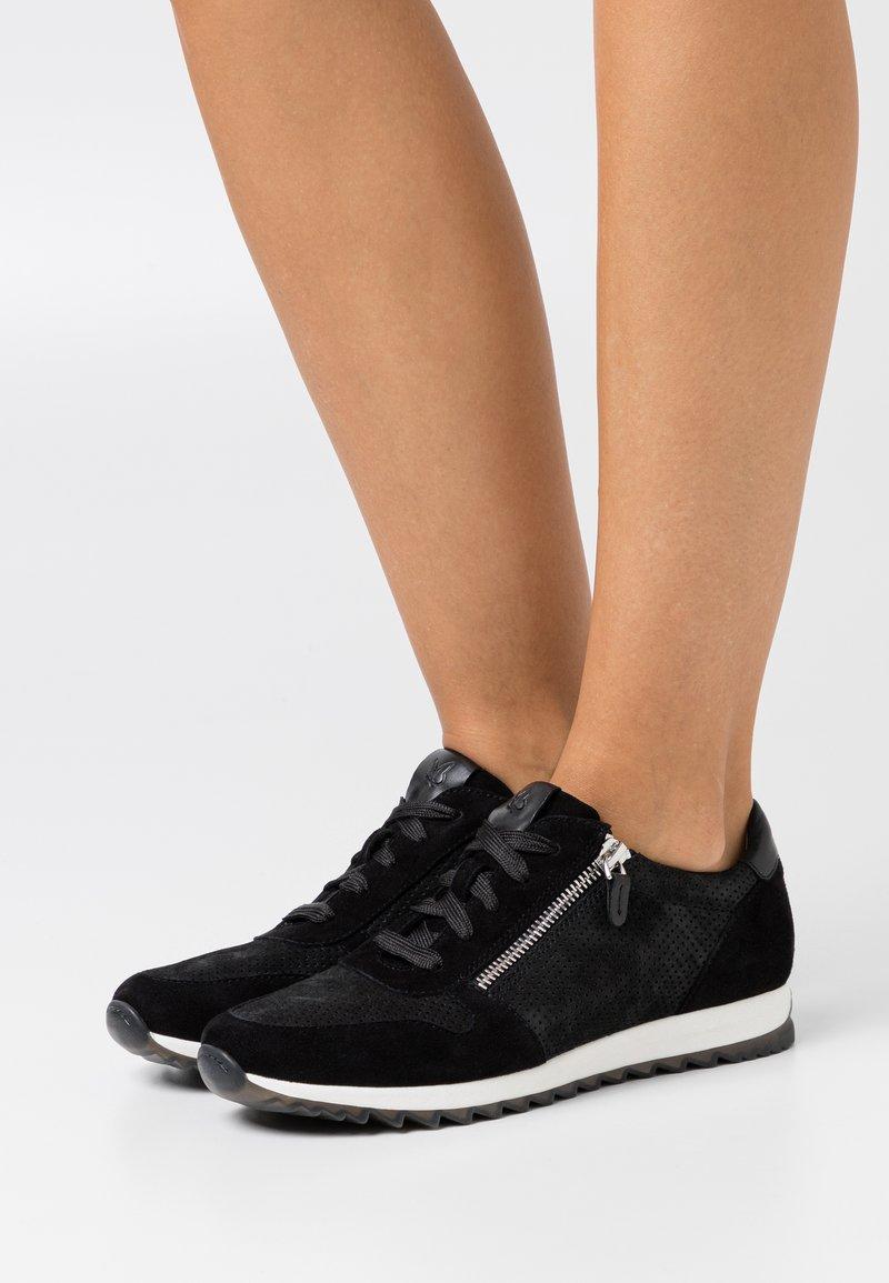 Caprice - Sneakers laag - black
