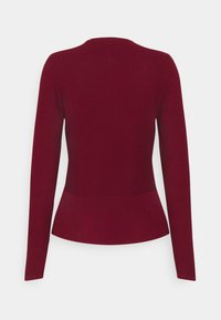 Esprit Collection - CARDI - Strikjakke /Cardigans - bordeaux red - 1