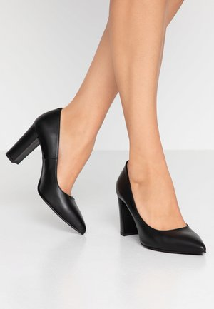 WIDE FIT DIAN - Classic heels - black