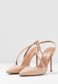 Pura Lopez - Zapatos altos - sabbia - 4