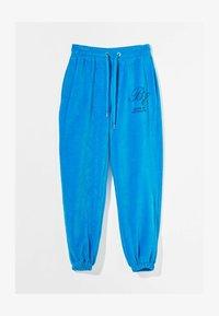 Bershka - Pantaloni sportivi - blue - 4