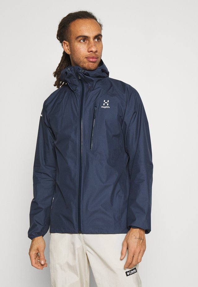 JACKET MEN - Veste Hardshell - tarn blue