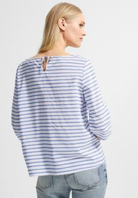 comma casual identity - Blouse - powder blue woven stripes - 1