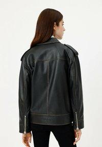 HUGO - LITSA - Leather jacket - black - 2
