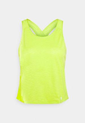 PULSE RUNNING VEST - Topper - lime punch green