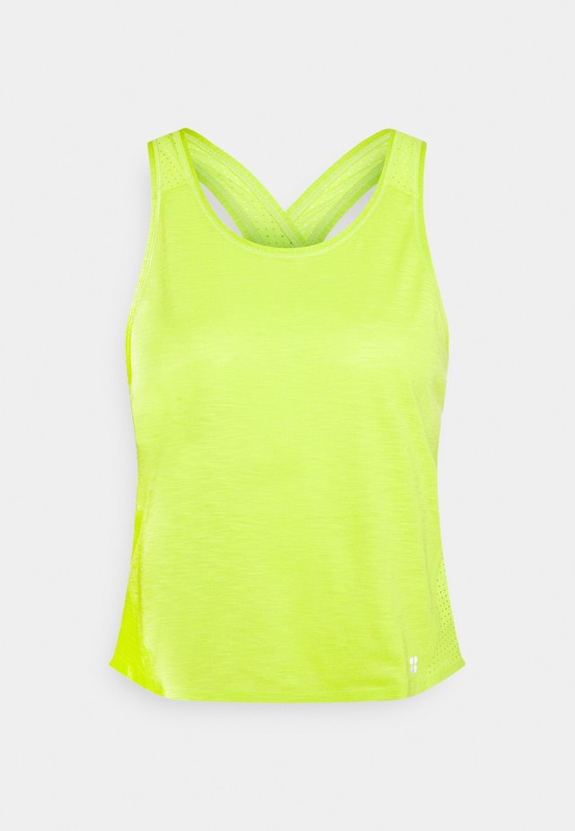 PULSE RUNNING VEST - Top - lime punch green