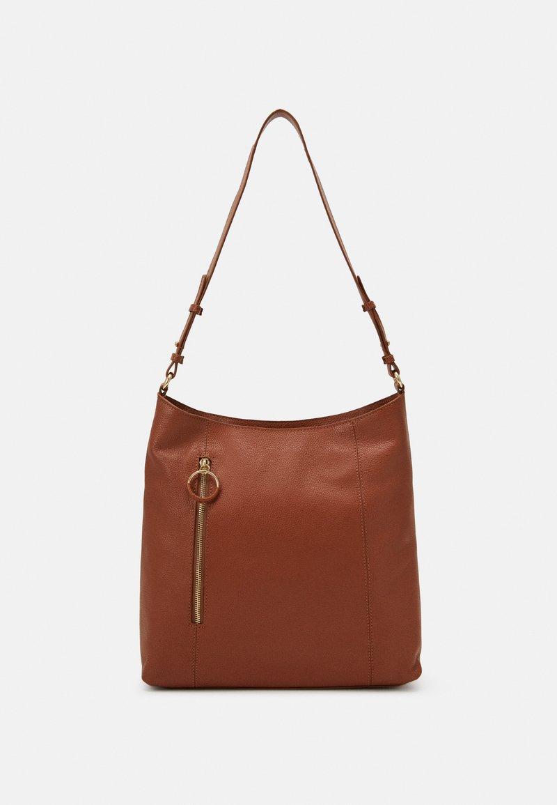 Zign - LEATHER - Handbag - cognac