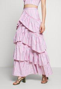 Mossman - THE LALITO SKIRT - Maxi skirt - stripe - 0
