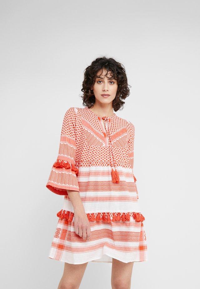 IDA - Day dress - coral