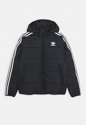 PADDED JACKET - Winter jacket - black/white