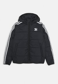 adidas Originals - PADDED JACKET - Vinterjakker - black/white - 0