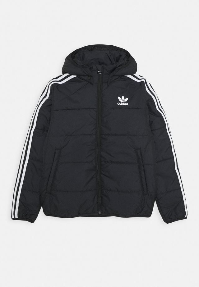 PADDED JACKET - Kurtka zimowa - black/white