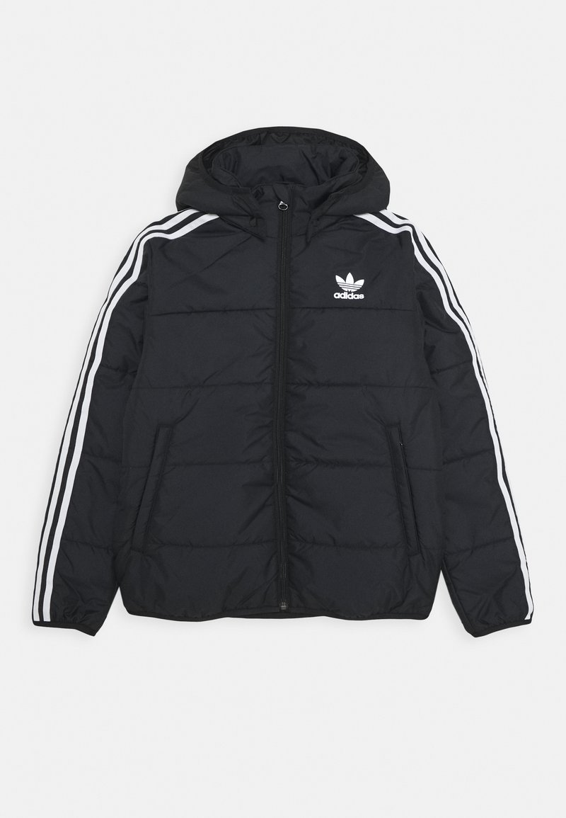 adidas Originals - PADDED JACKET - Winterjas - black/white