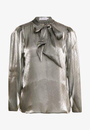 STELLA - Blouse - pewter metallic