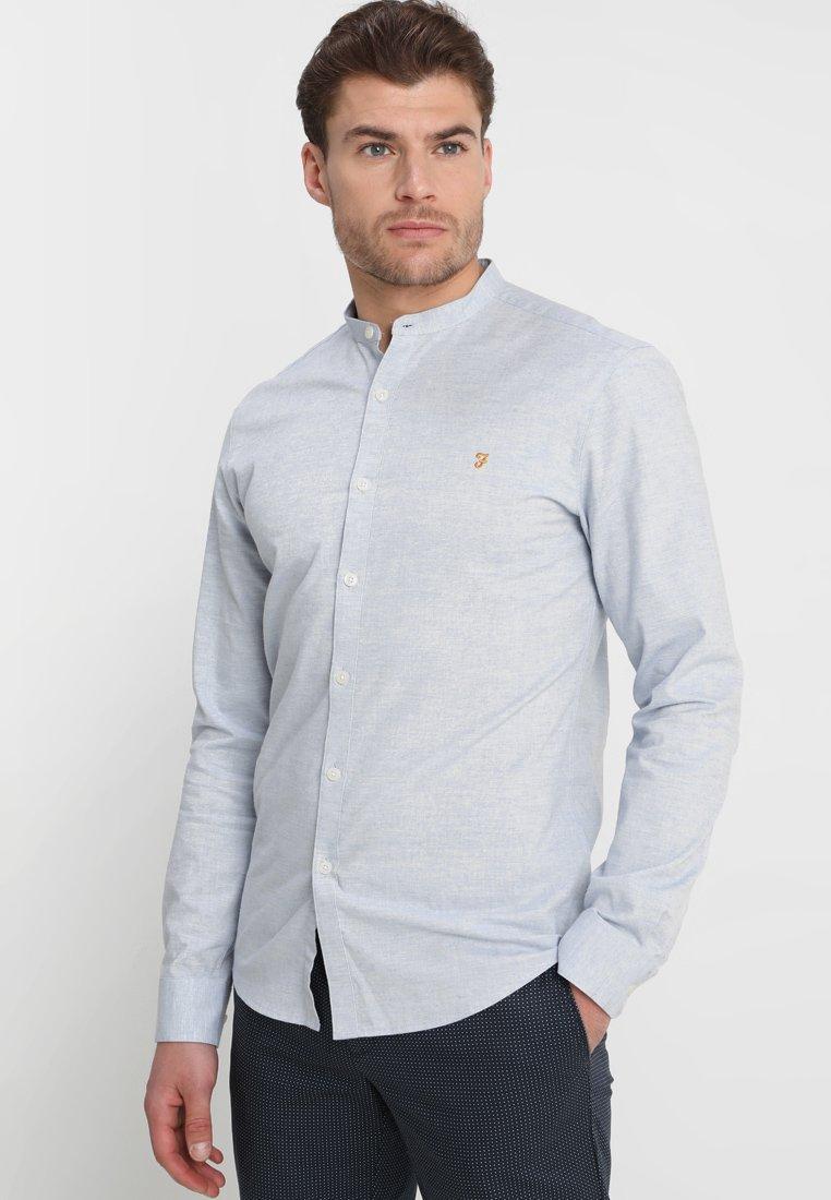 Farah - STEEN GRANDAD - Shirt - steel blue