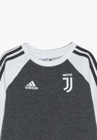 adidas Performance - JUVE - Dres - dark grey heather/cream white - 7