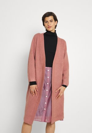 DIDO CARDI LONGLINE BOYFRIEND CARDI - Kardigan - dusky pink