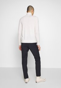 Calvin Klein Tailored - WINDOW CHECK SLIM PANTS - Kalhoty - blue - 2