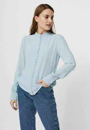 JAPANISCHER - Button-down blouse - blue fog
