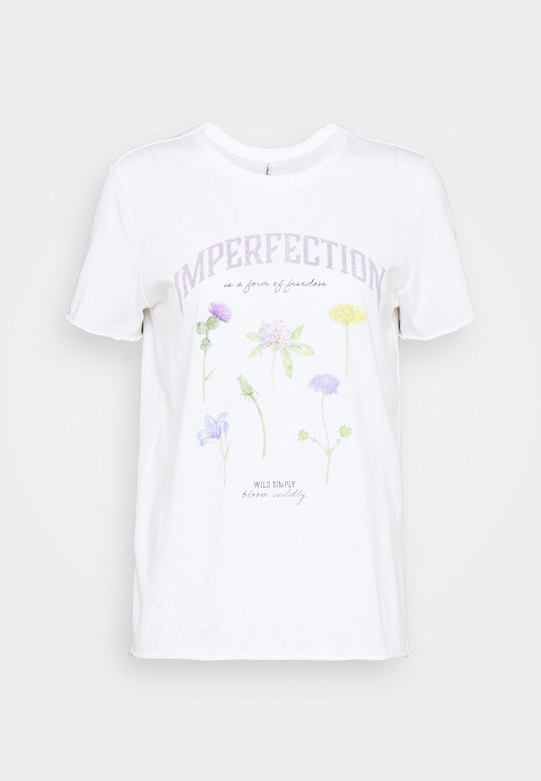Damen ONLLUCY LIFE WILDFLOWER  - T-Shirt print