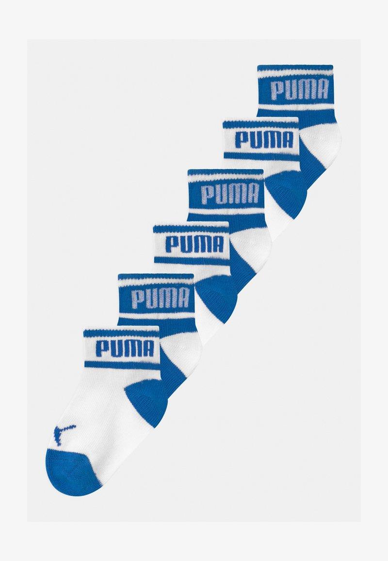 Puma - PUMA BABY WORDING 6 PACK - Sokken - white/blue
