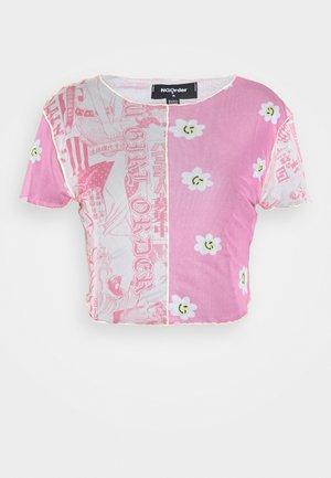 MIXED EDGED  - Print T-shirt - multi