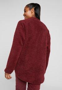 Eivy - REDWOOD SHERPA JACKET - Fleece jacket - wine - 2