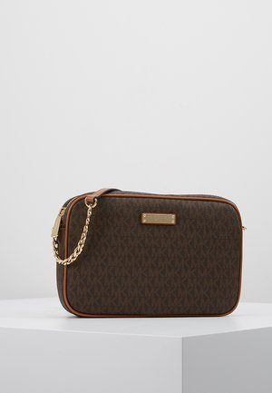 JET SET CROSSBODY - Schoudertas - brown