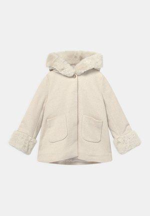 HOODED  - Short coat - offwhite