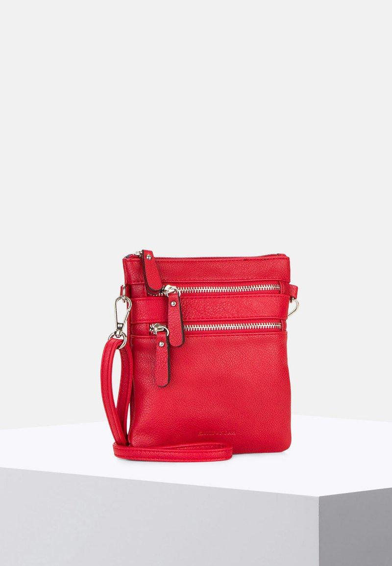Emily & Noah - EMMA - Across body bag - red