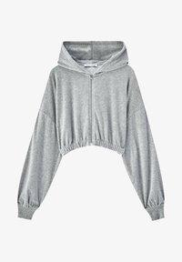 PULL&BEAR - Zip-up sweatshirt - grey - 5