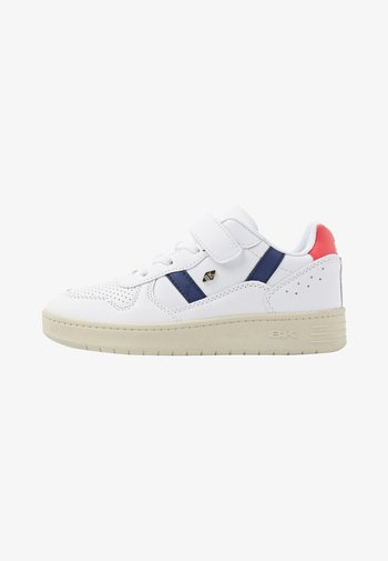 Sneakers laag - white/navy/red