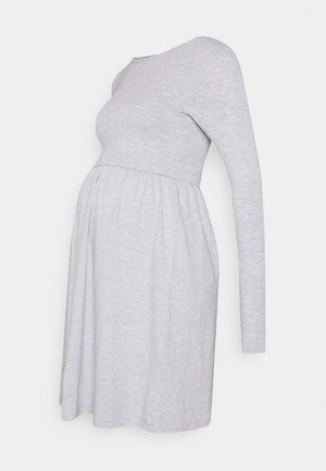 NURSING - Jersey Dress - Žerzejové šaty - grey