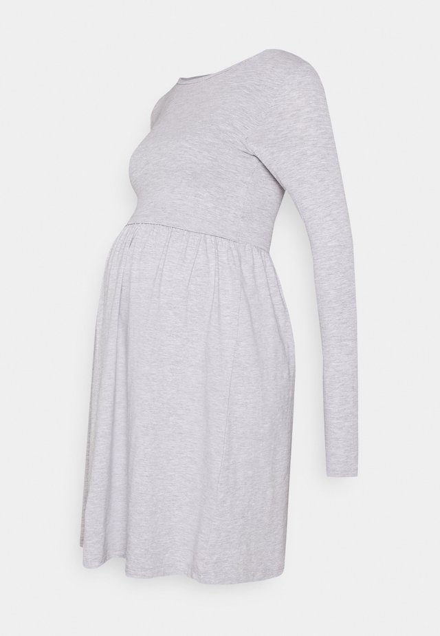 NURSING FUNCTION dress - Vestito di maglina - grey