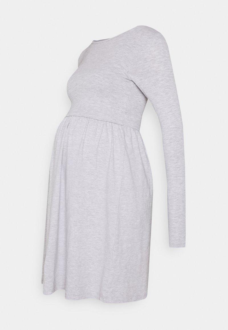 Anna Field MAMA - Jersey dress - grey