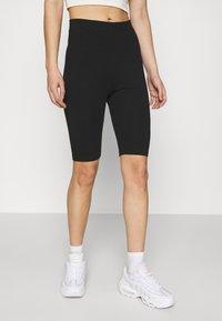 Even&Odd - 2 Pack Cycle Shorts - Shorts - black - 1